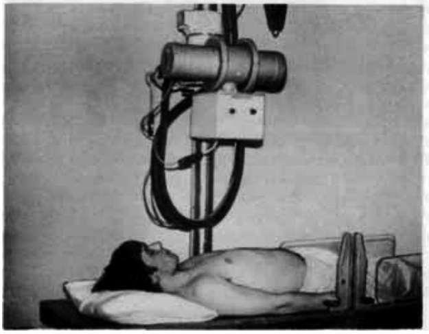рентгеновское обследование легких в положении лежа