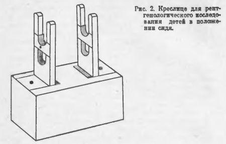 кресло для рентген обследования детей в положении сидя