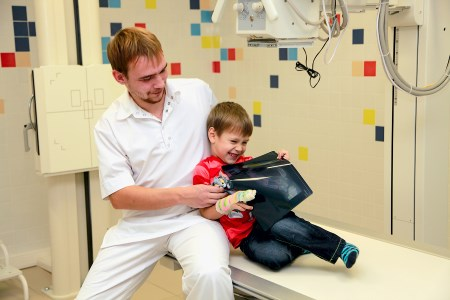 рентген грудной клетки ребенку