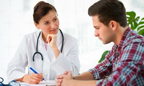 Консультация врача для назначения рентгена