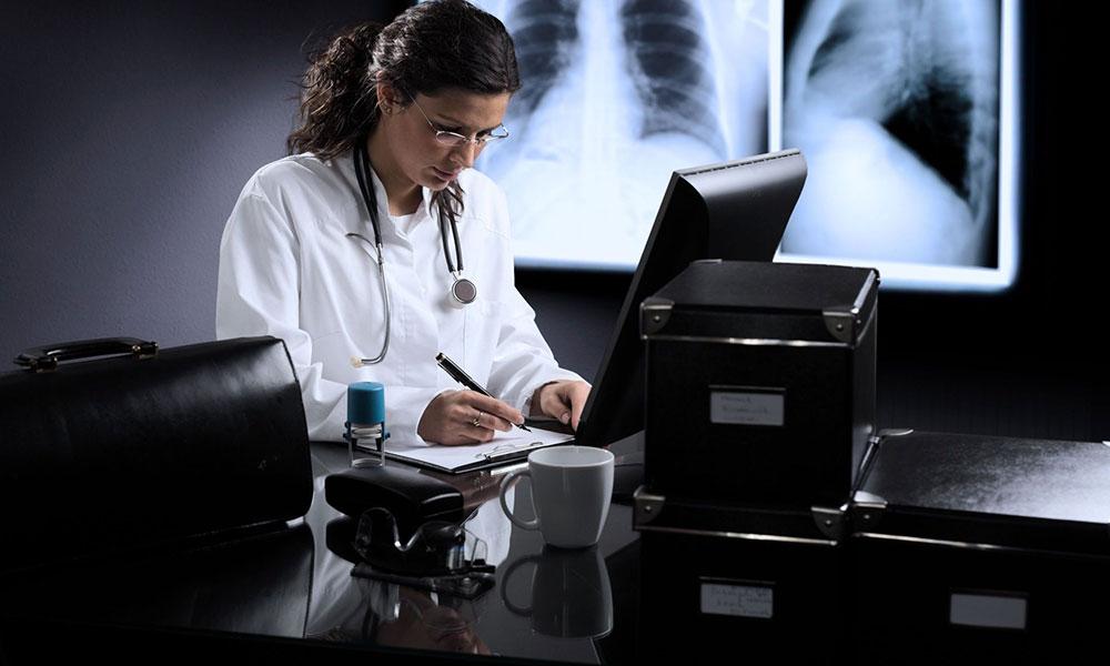 Изготовление рентгеновских снимков