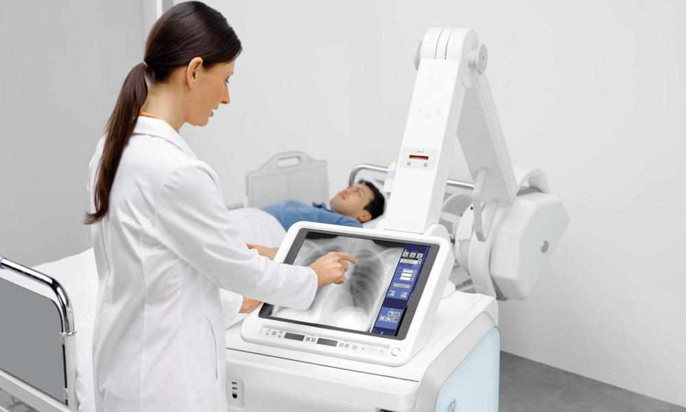 Обследование на палатном рентгеновском аппарате
