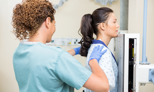 Облучение при рентгеновском обследовании