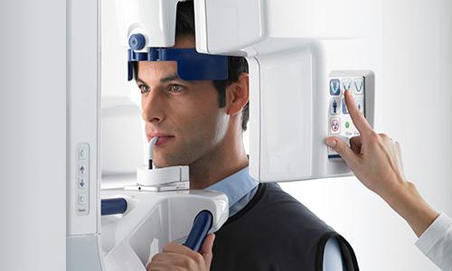 Цифровой ортопантомограф